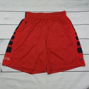 Nike Mens Elite Stripe Basketball Shorts XL